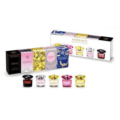 Set De Perfumes Versace Miniaturas / 5 Unidades / 5Ml Cada Uno