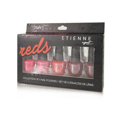 Set De Uñas Etienne Reds