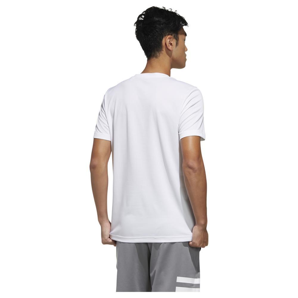 Polera Hombre Adidas Designed 2 Move Logo image number 3.0