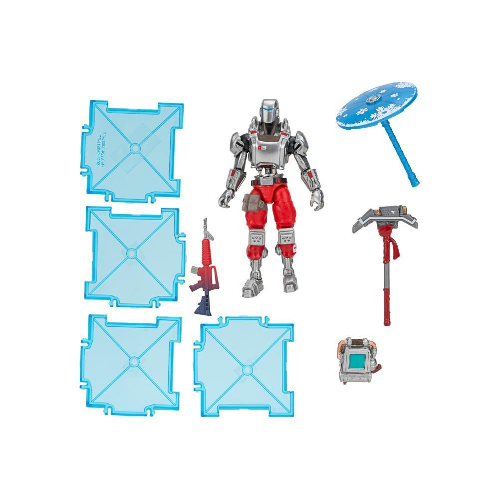 Figura De Accion Fortnite Early Game Survival Kit Con Figura A.I.M S3 image number 4.0