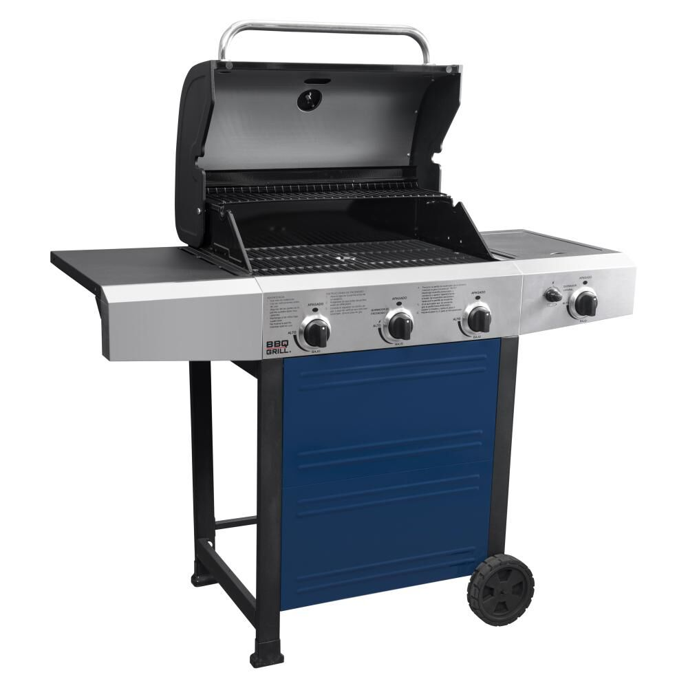 Parrilla A Gas Bbq Grill Bq304gcblue image number 2.0