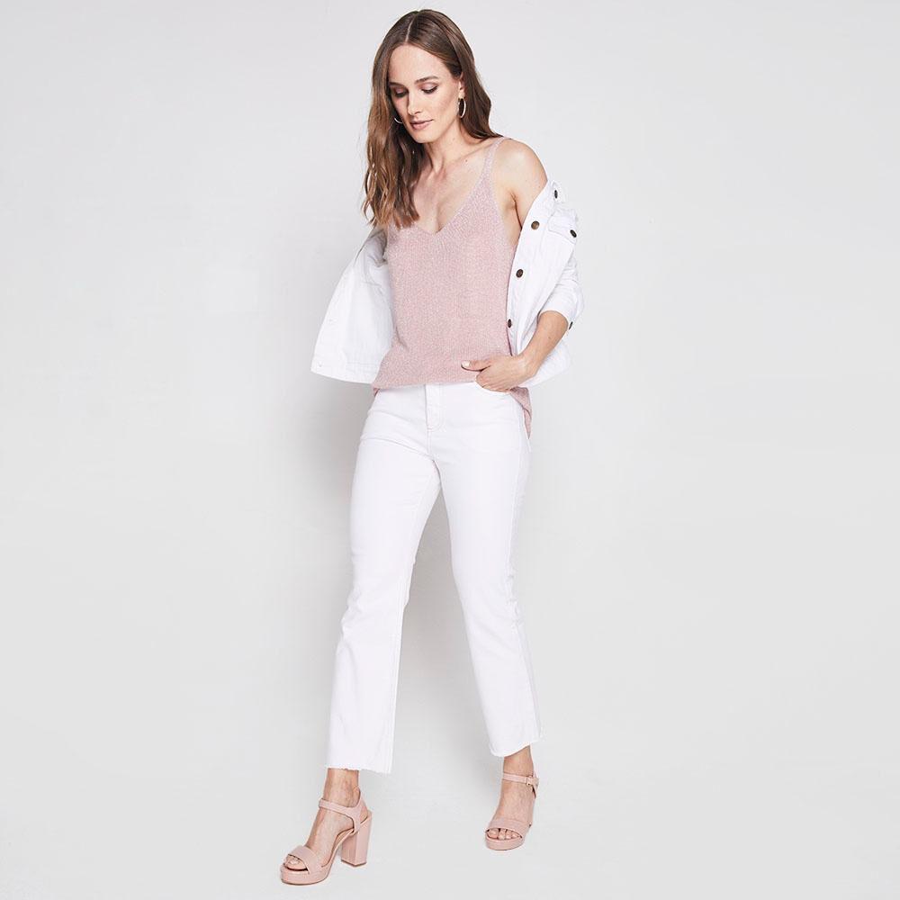 Jeans Mujer Crop Kimera image number 1.0