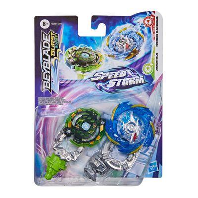 Figura De Acción Beyblade Speedstorm Dual Pack