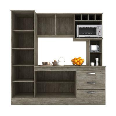Mueble De Cocina Casa Ideal New Lorena / 6 Puertas / 3 Cajones