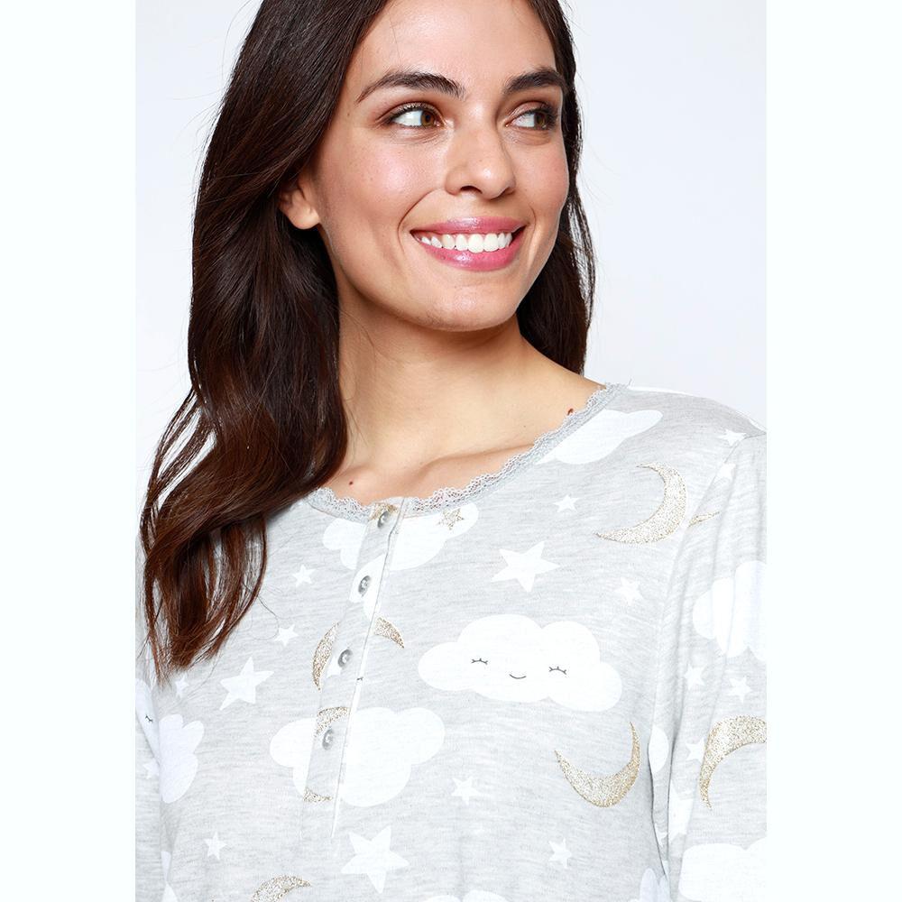 Camisa De Dormir Mujer Kayser image number 2.0