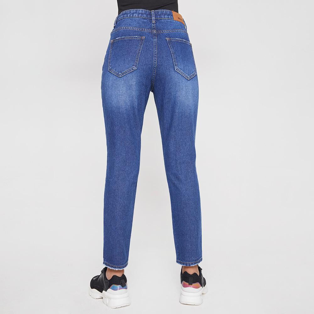 Jeans Mujer Tiro Alto Mom Rolly Go image number 2.0