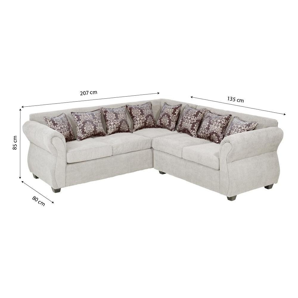 Sofa Seccional Casaideal New Rockford / 3-2 Cuerpos image number 4.0