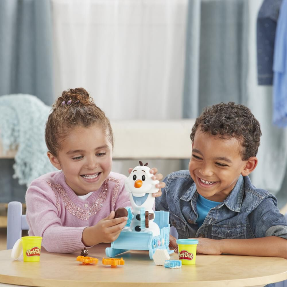 E5375 Play-Doh Frozen Olaf En image number 4.0