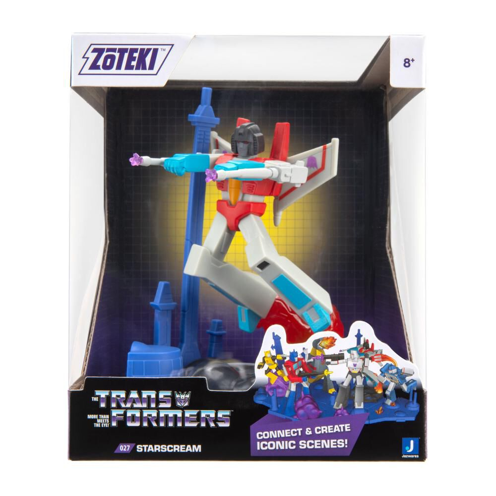 Figura De Acción Zoteki Transformers Starscream image number 1.0