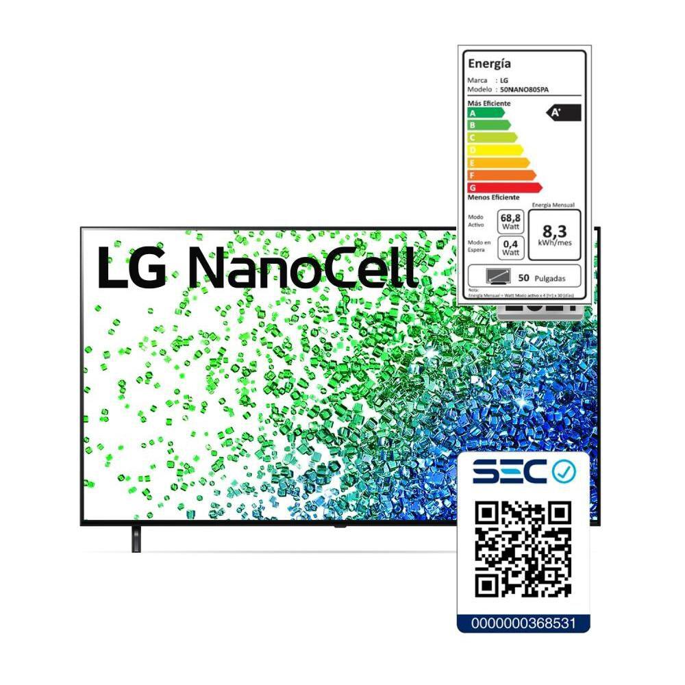 "Led LG NANO80SPA / 50 "" / Ultra HD 4K / Smart Tv image number 7.0"