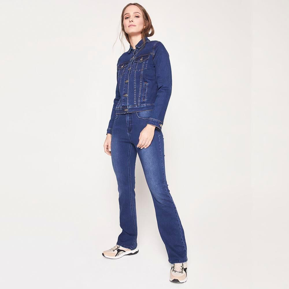 Chaqueta Jeans Mujer Kimera image number 1.0