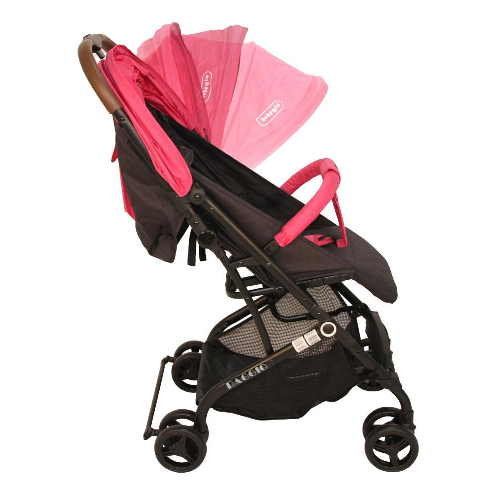 Coche Travel System Compacto Bebeglo RS-13785-2 Fucsia image number 8.0
