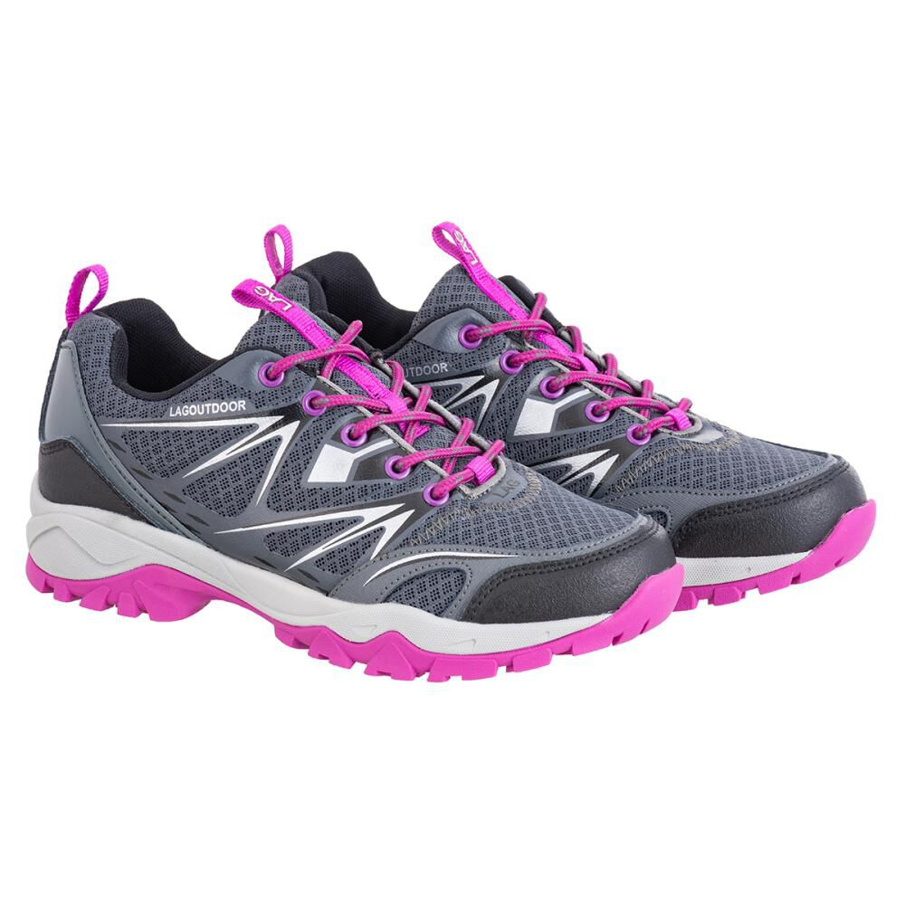 Zapatilla Outdoor Mujer Lag image number 4.0