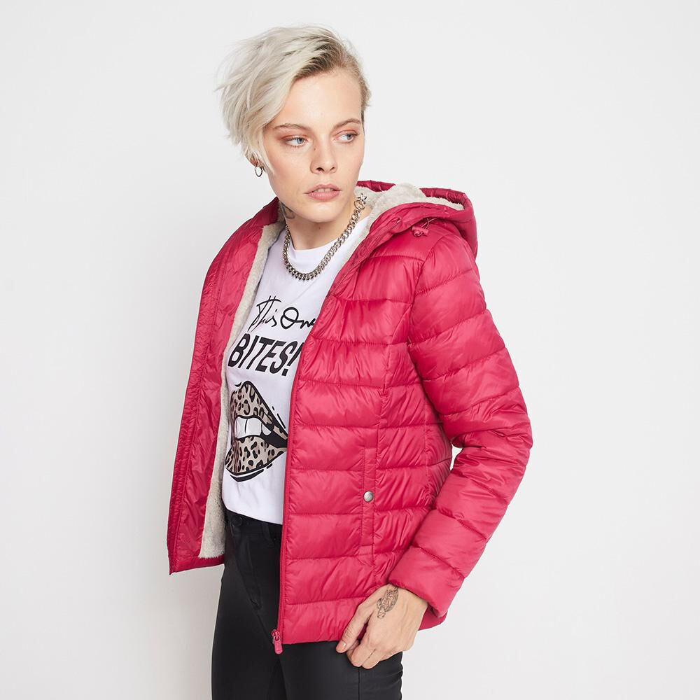 Parka Corta Forro Chiporro Mujer Rolly Go image number 0.0