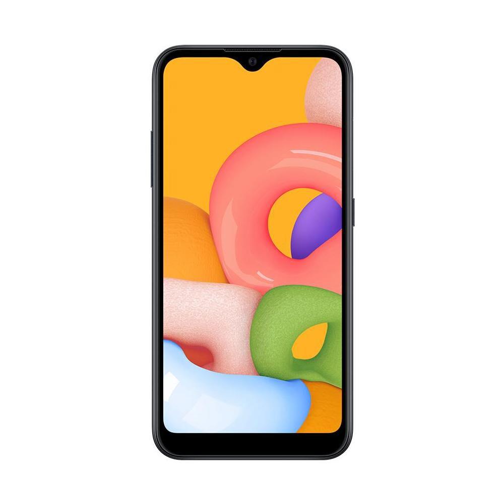 Smartphone Samsung Galaxy A01 Negro / 32gb / Liberado image number 1.0
