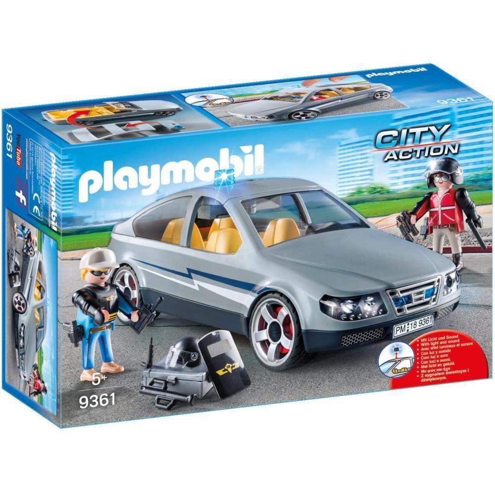 Figura De Acción Playmobil Coche Civil De Las Fuerzas Especiales image number 1.0
