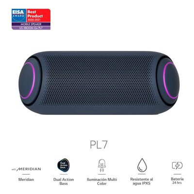 Parlante Bluetooth LG XBOOM Go PL7 2020 / 30 W