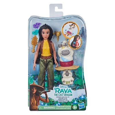 Raya and the Last Dragon de Disney Set Fortaleza y estilo