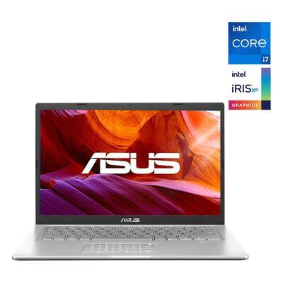 "Notebook Asus X415ea-eb742t / Transparent Silver / Intel Core I7 / 8 Gb Ram / Intel Iris Xe / 512 Gb Ssd / 14 """