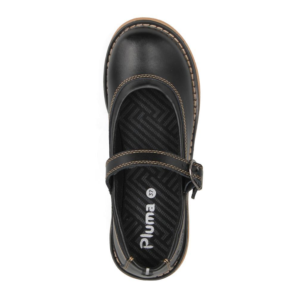 Zapato Escolar Mujer Pluma image number 3.0
