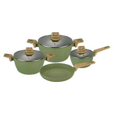 Batería De Cocina Simple Cook Castella / 7 Piezas