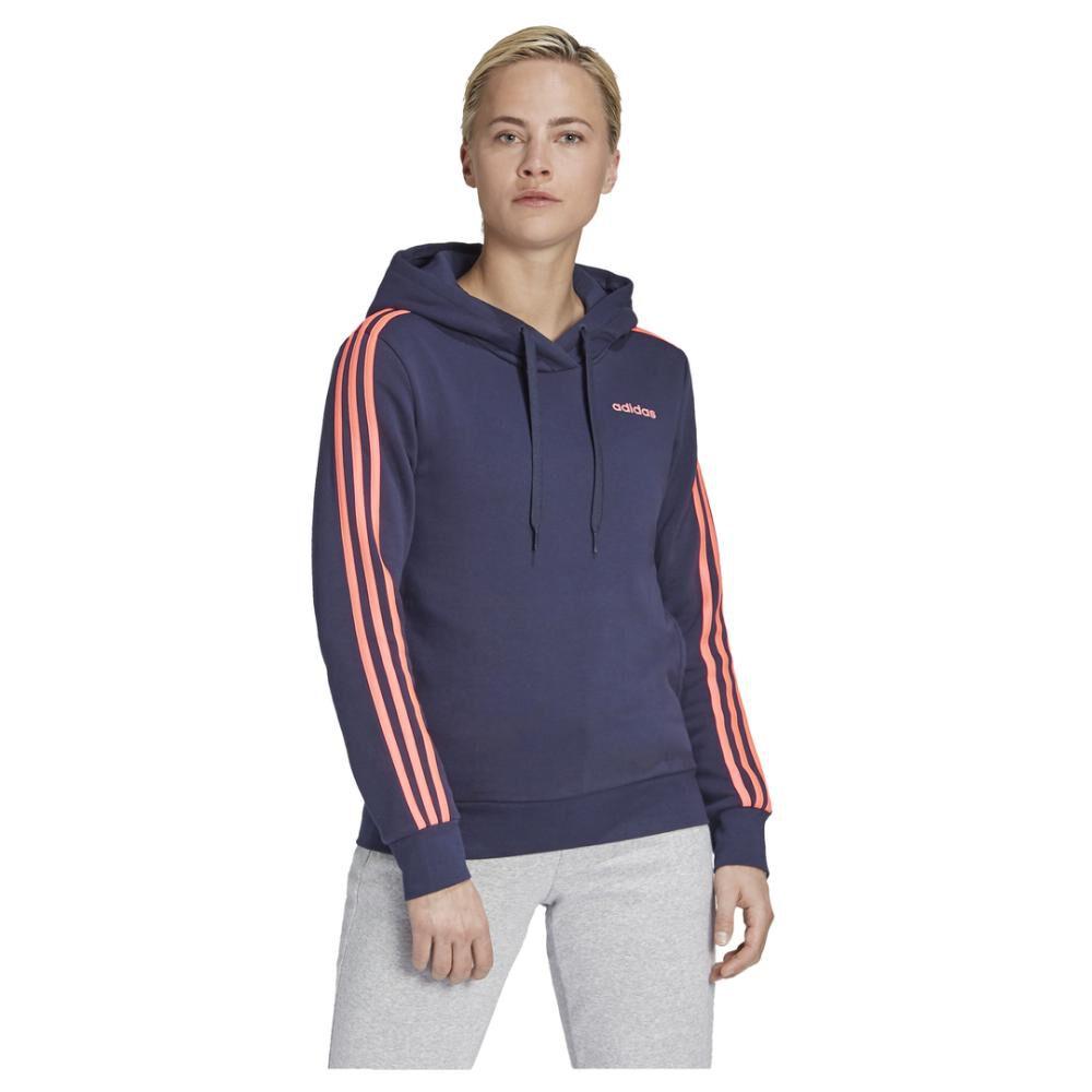 Poleron Deportivo Mujer Adidas Essentials Fleece 3s image number 0.0