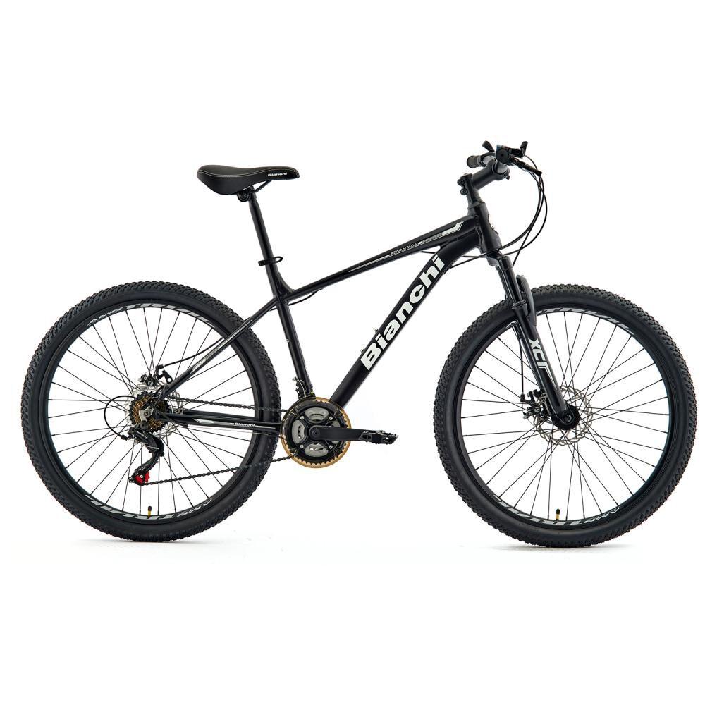 Bicicleta Mountain Bike Bianchi Advantage 27,5 Sx Negro Semi Matte / Blanco / Aro 27.5 image number 0.0