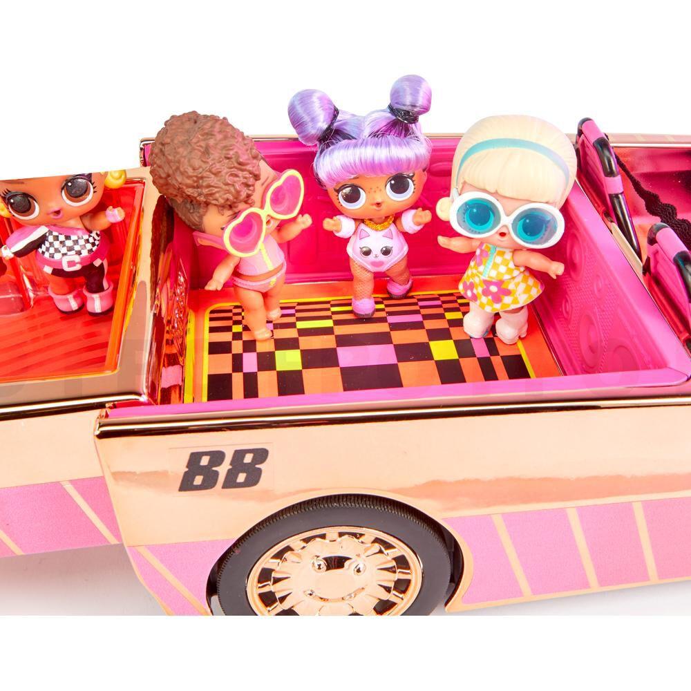 Accesorios Muñeca L.O.L Car Pool Coupe De Lol Surprise image number 1.0