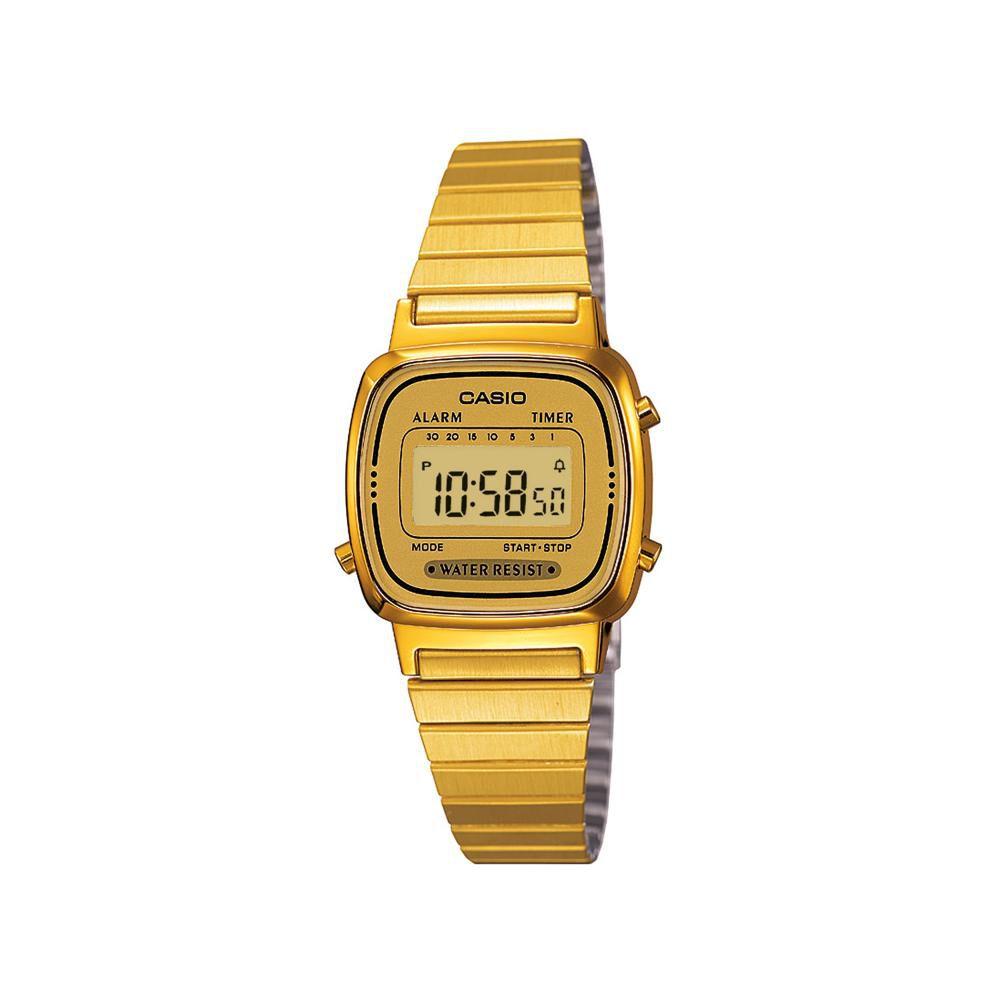Reloj Mujer Casio La670wga-9df image number 0.0