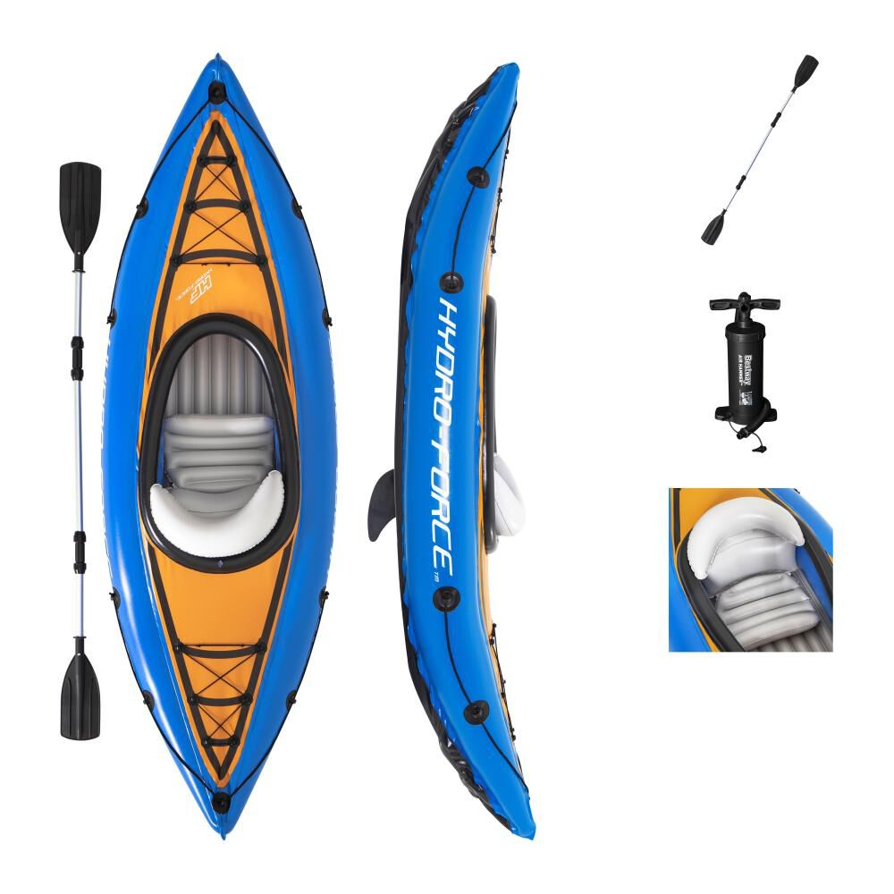 Kayak Inflable Bestway Cove 1 Persona image number 0.0