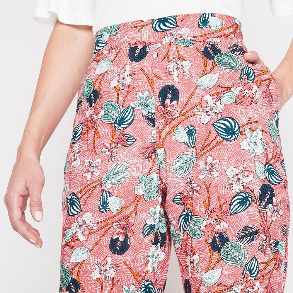 Pantalon Bombacho Viscosa Mujer Geeps image number 3.0