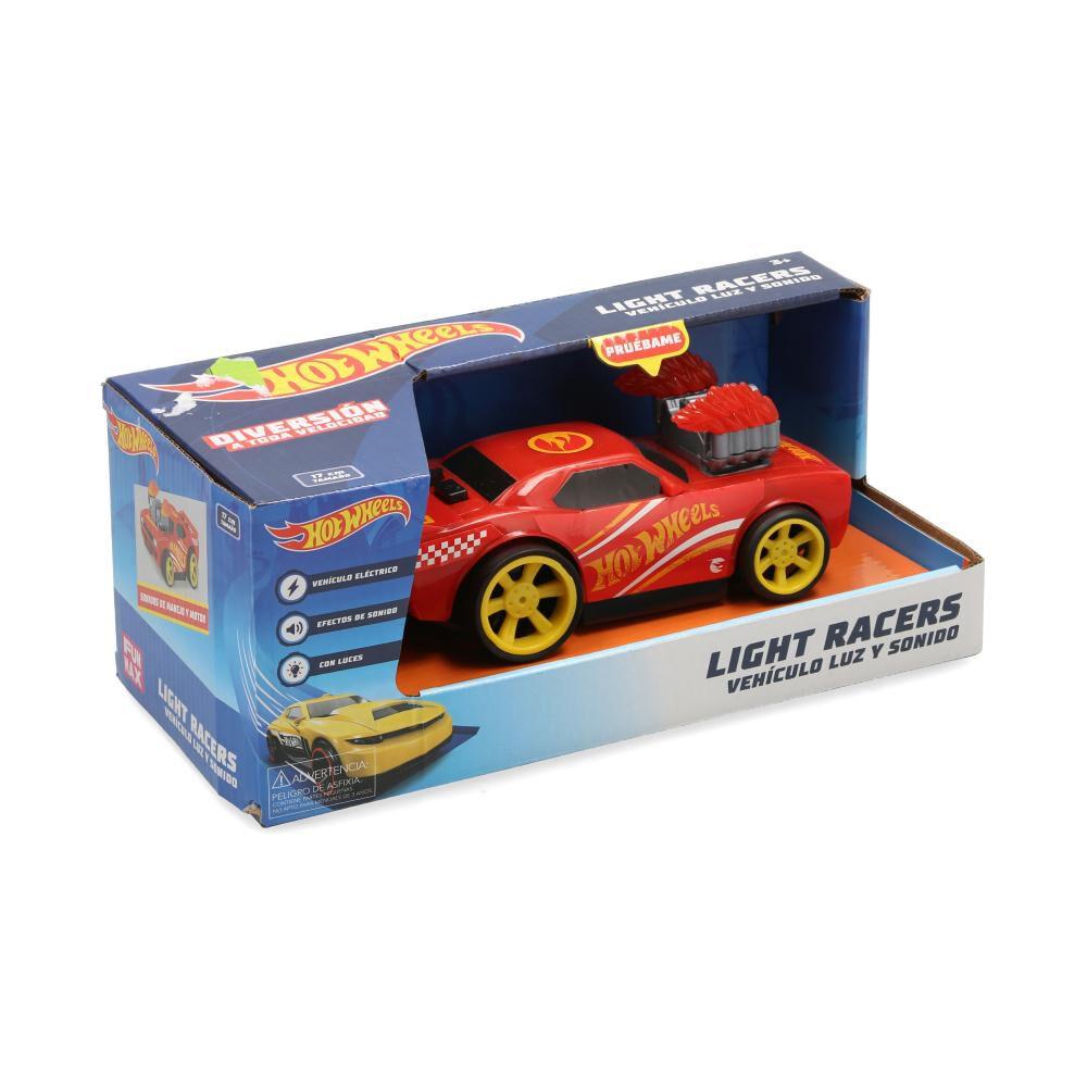 Auto De Juguete Hotwheels Light & Sound image number 0.0