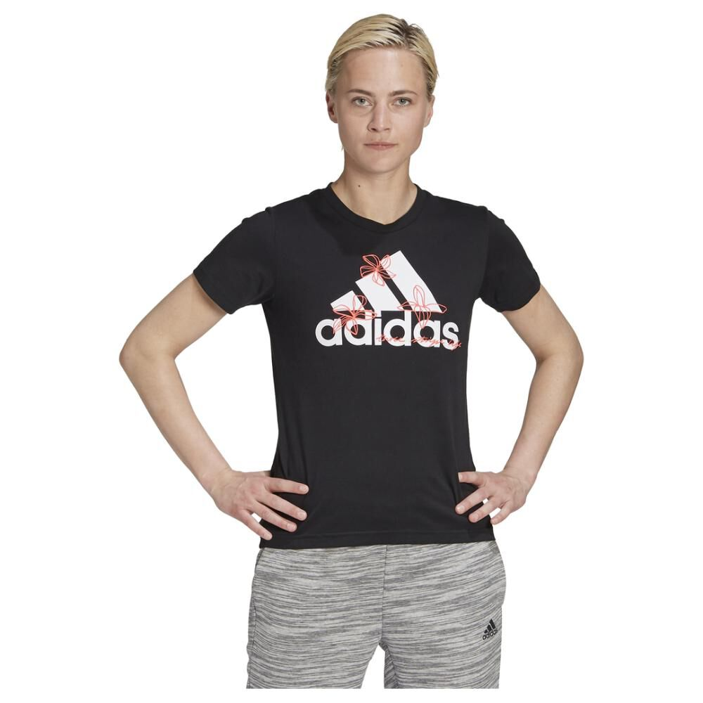 Polera Mujer Adidas Womens Floral Graphic image number 0.0