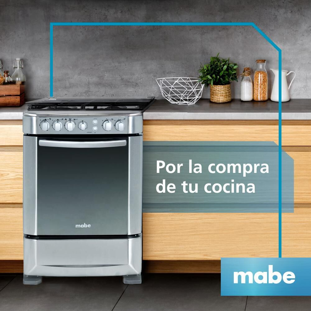 Cocina Mabe ANDES60TX4 / 4 Quemadores image number 5.0