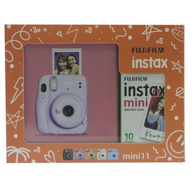 Cámara Instantánea Fujifilm Instax Mini 11 Lila + Película