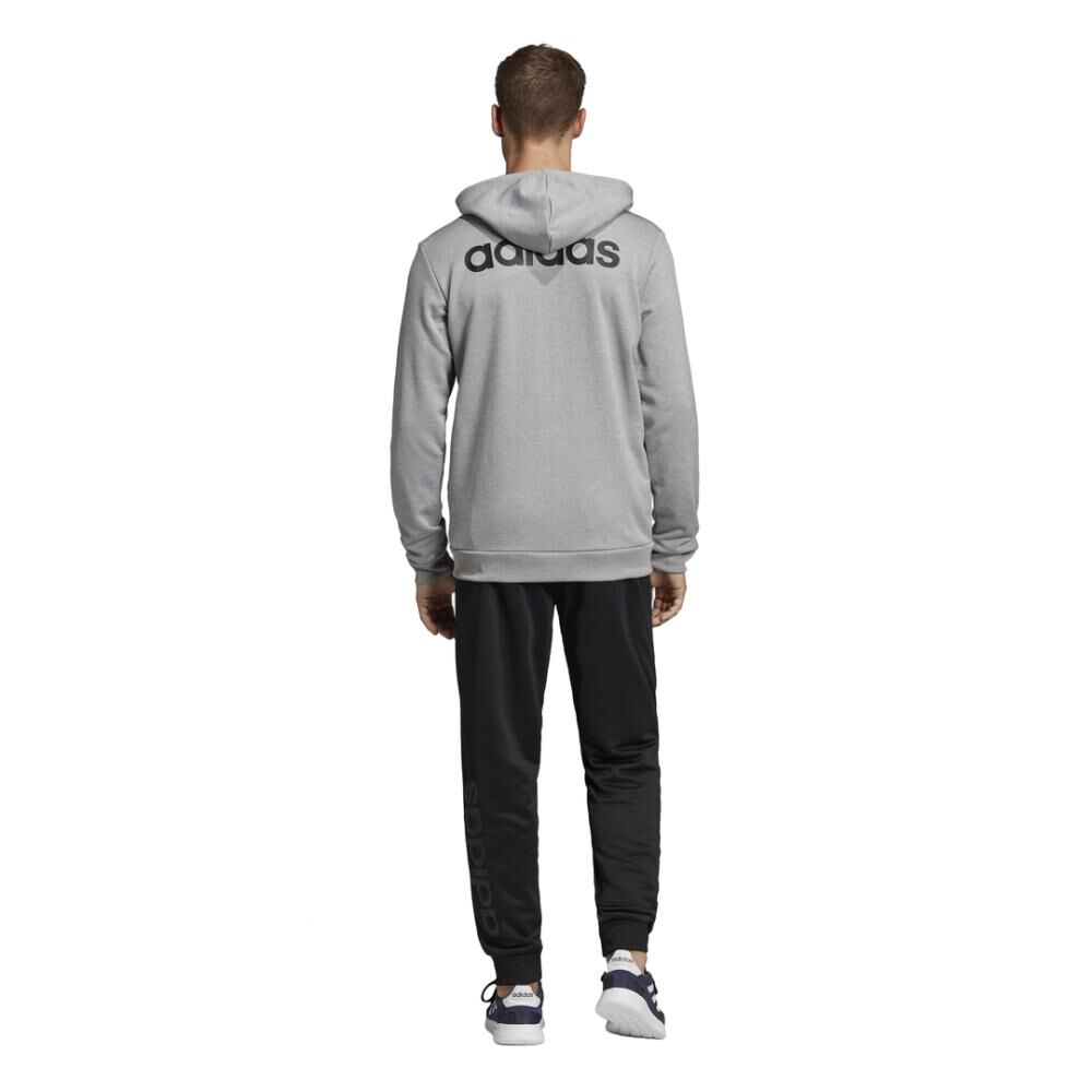 Buzo Con Capucha Hombre Adidas Linear French Terry image number 7.0