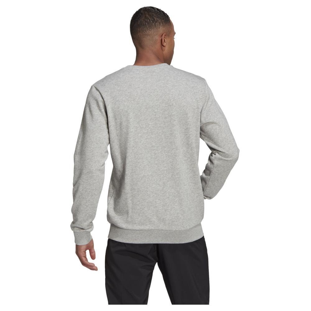Polerón Deportivo Hombre Adidas Essentials Sweatshirt image number 4.0