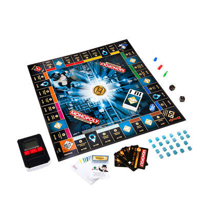 Juego De Mesa Hasbro Monopoly Ultimate Banking