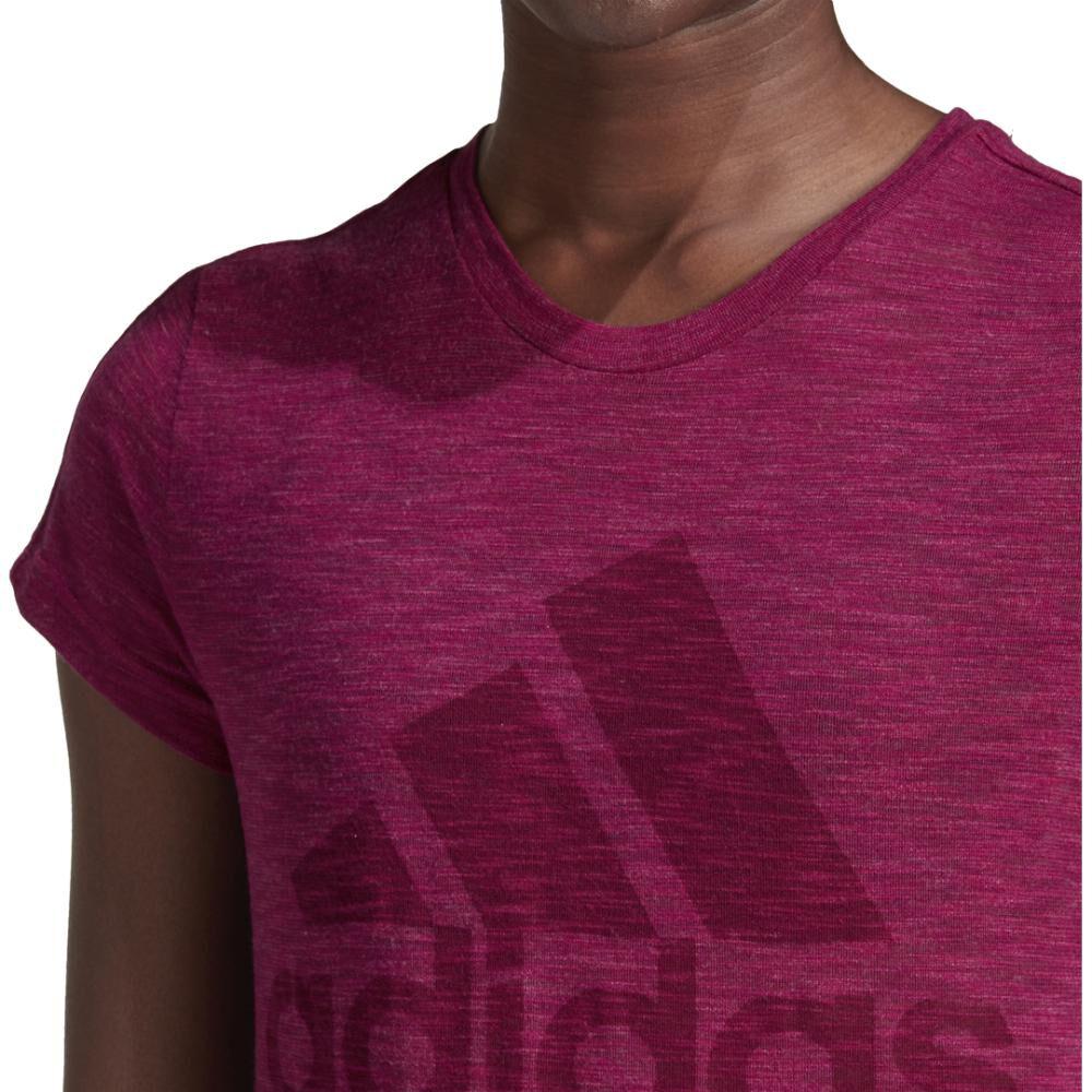 Polera Mujer Adidas W Winners Short-sleeve Crew Tee image number 8.0