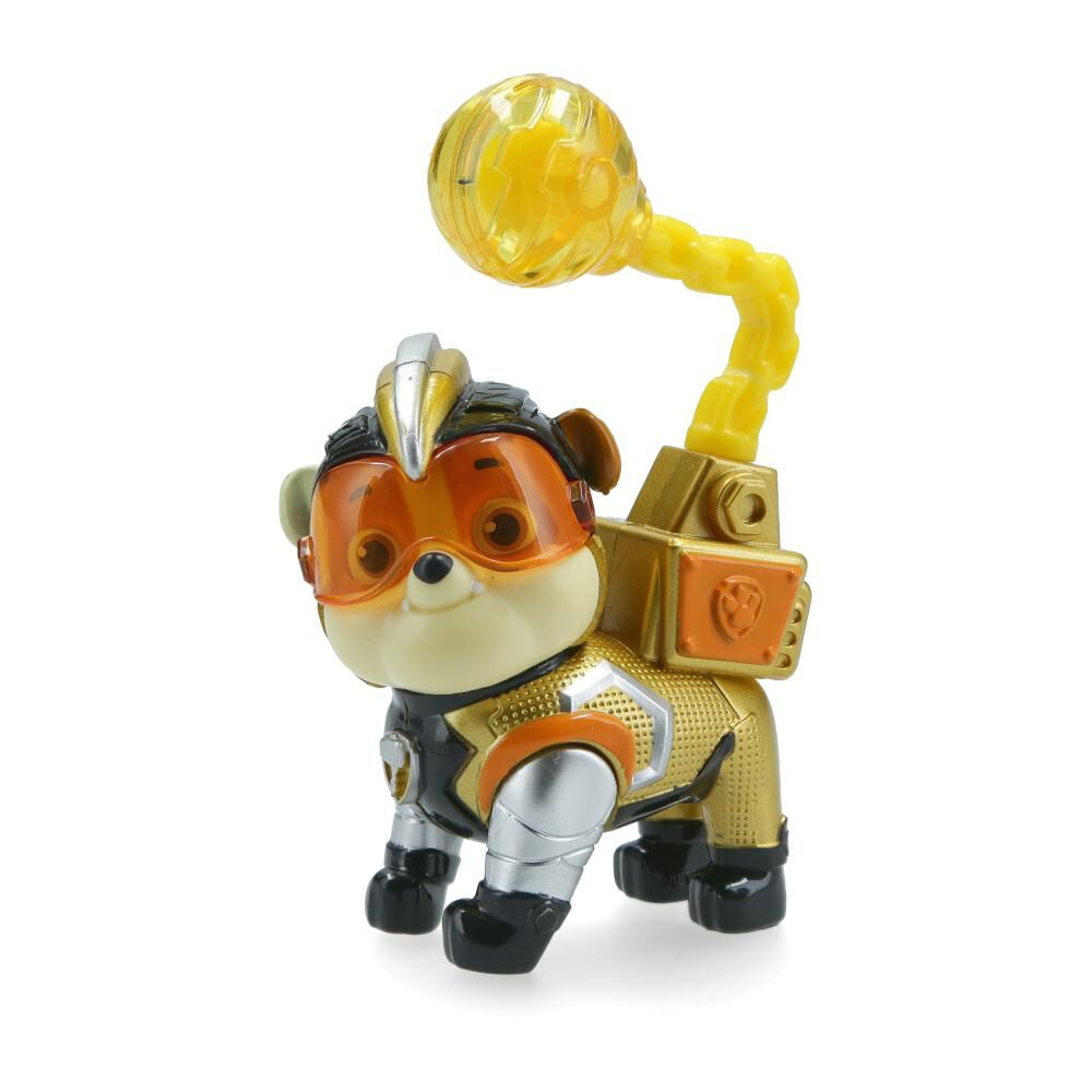 Figura De Accion Paw Patrol Heroes Mighty Rubble image number 2.0