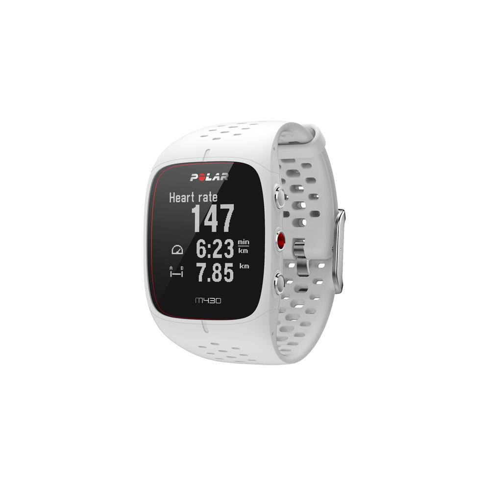 Smartwatch Polar M430  Blanco image number 1.0