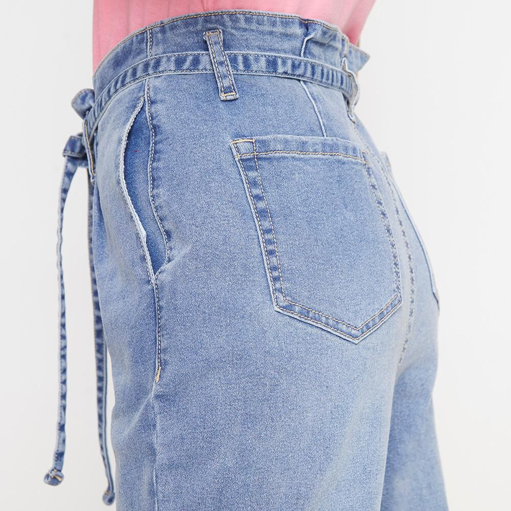 Jeans Mujer Tiro Alto Crop Freedom image number 4.0