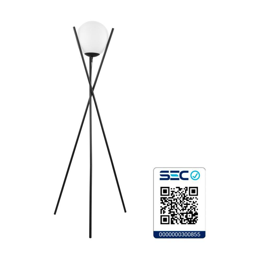 Lámpara De Pie Eglo Salvezinas 39594 / 1x25w image number 2.0