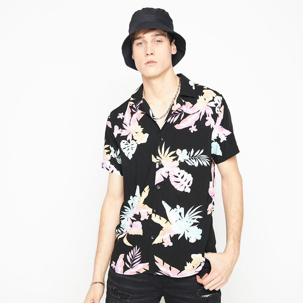 Camisa Manga Corta Hombre Rolly Go image number 0.0