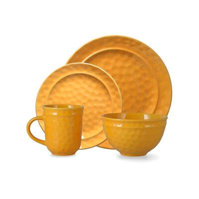 Juego De Loza Casaideal Orange   / 24 Piezas