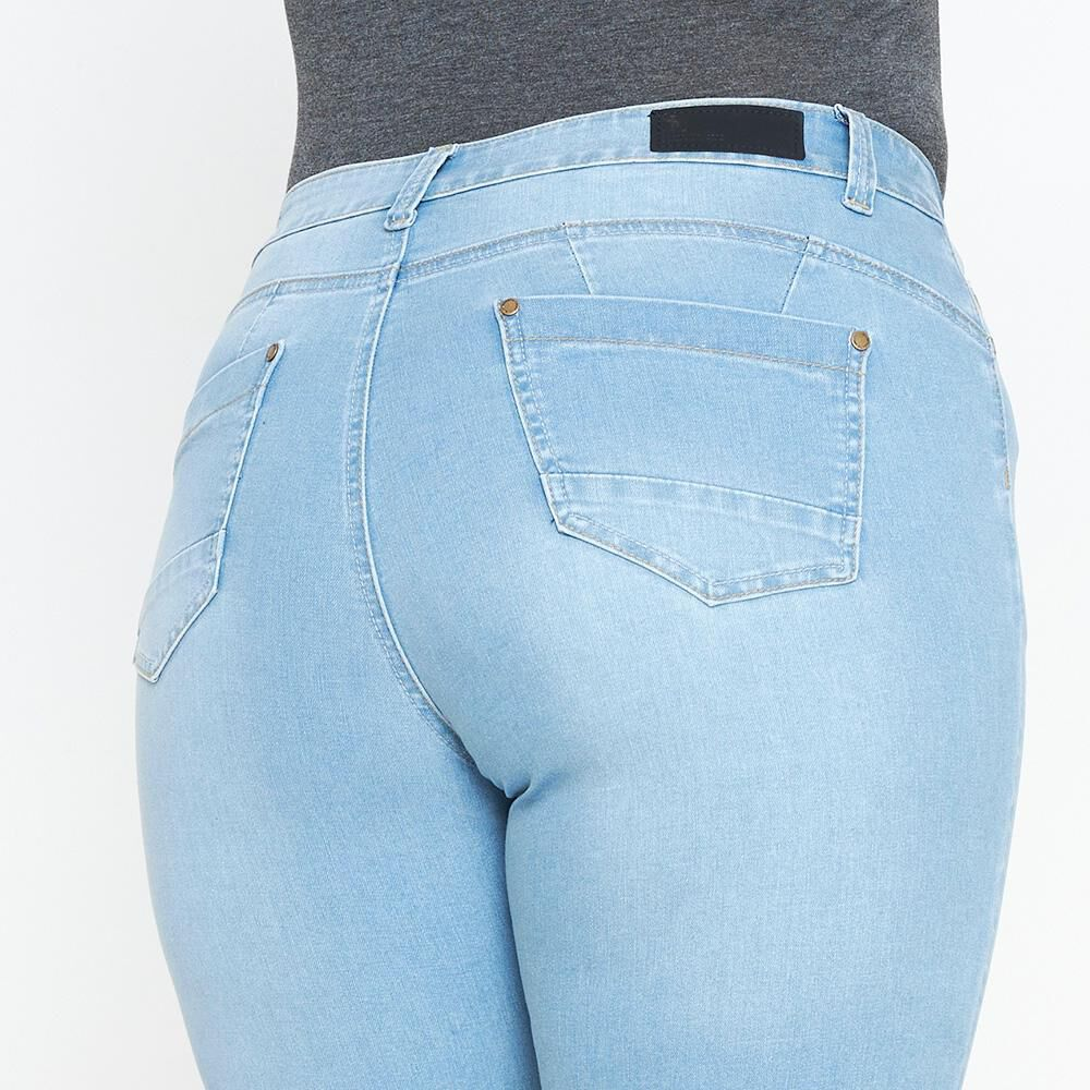 Jeans Mujer Tiro Alto Skinny Push Up Sexy Large image number 5.0