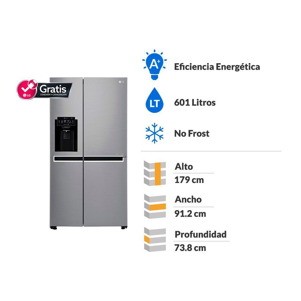 Refrigerador Side By Side LG GS65SPP1 / No Frost  / 601 Litros image number 1.0