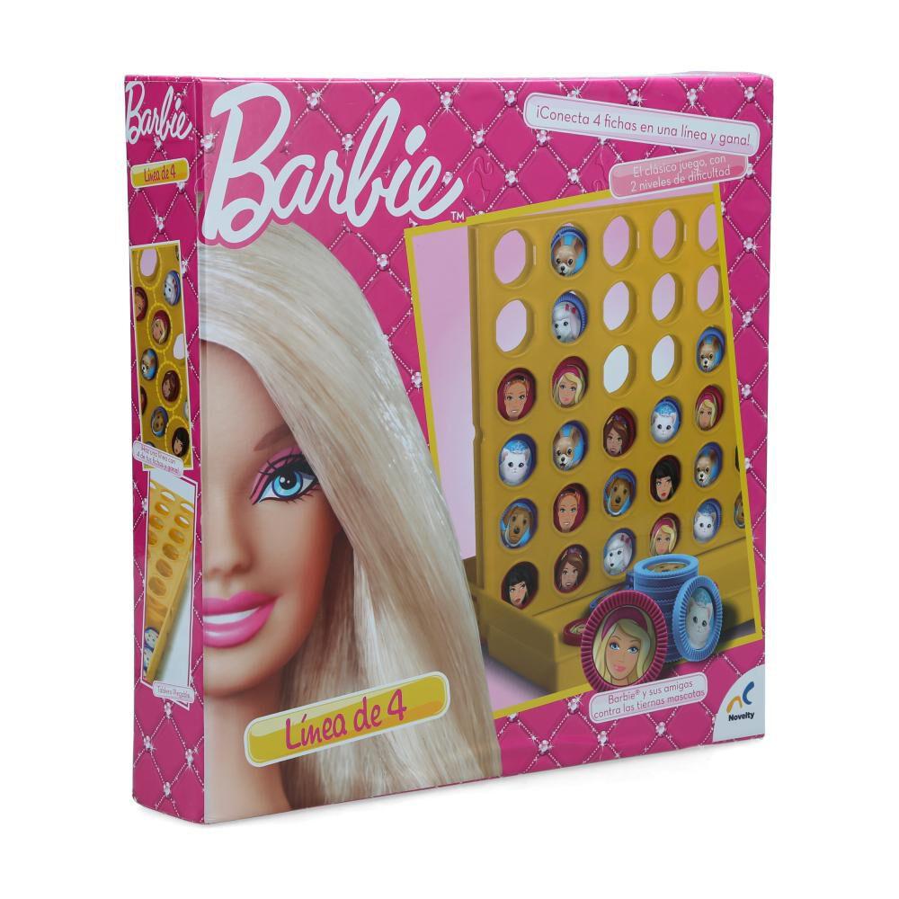Juegos Familiares Barbie Linea De 4 image number 0.0