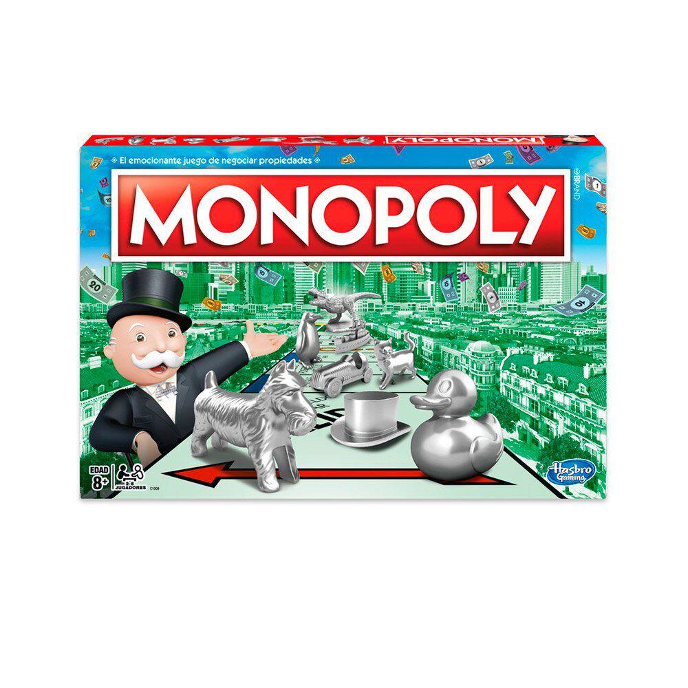 Juego De Mesa Hasbro Monopoly image number 0.0
