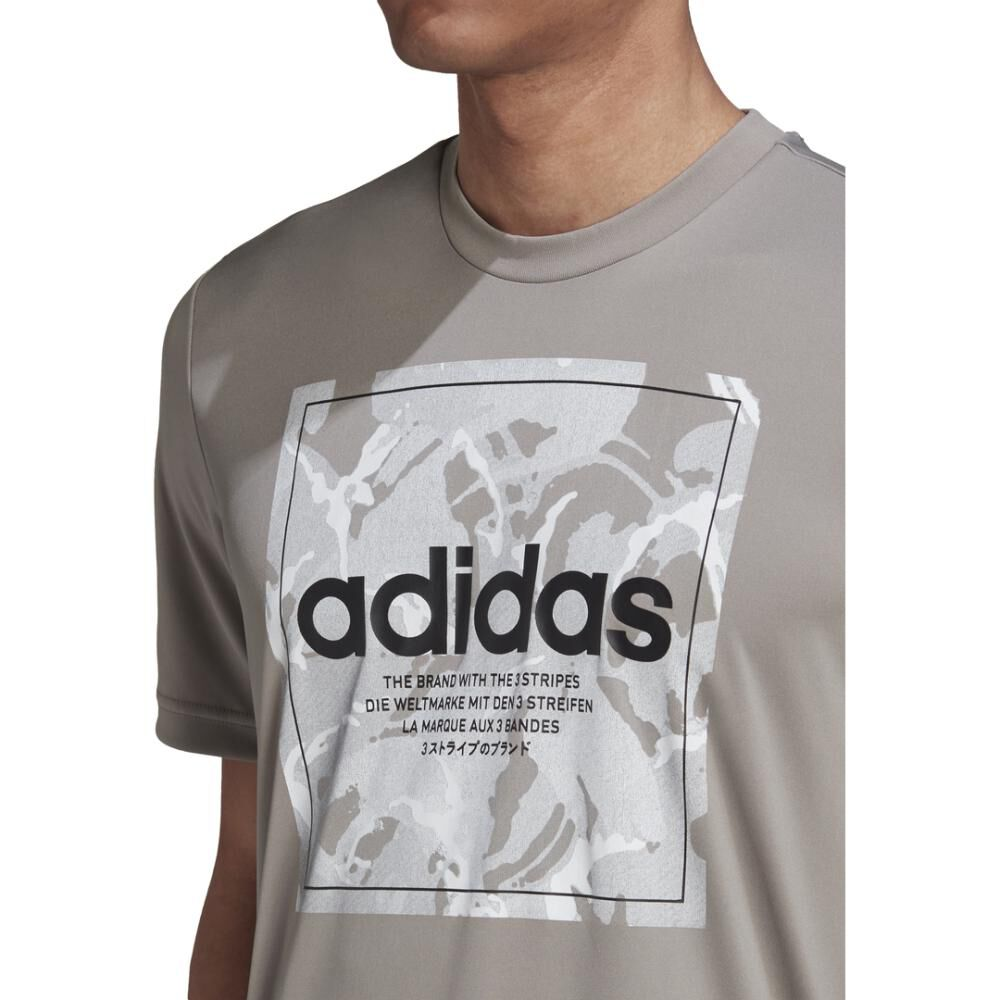 Polera Hombre Adidas Camo Box Tee image number 8.0